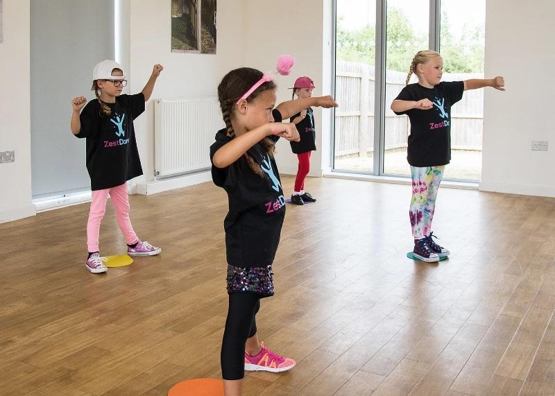 zest dance kids dancing