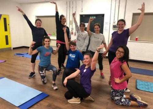 zest dance adult fitness class