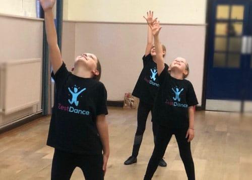 zest dance child class