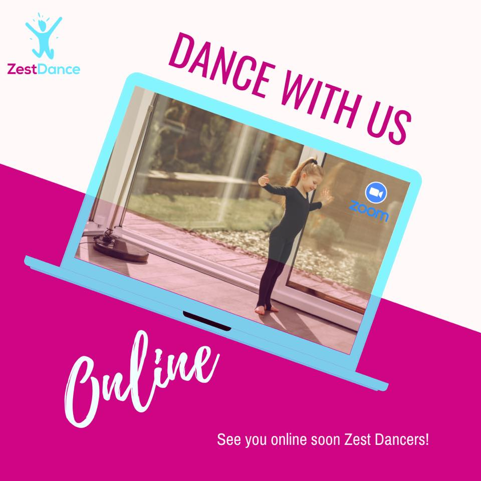 zest dance with us online
