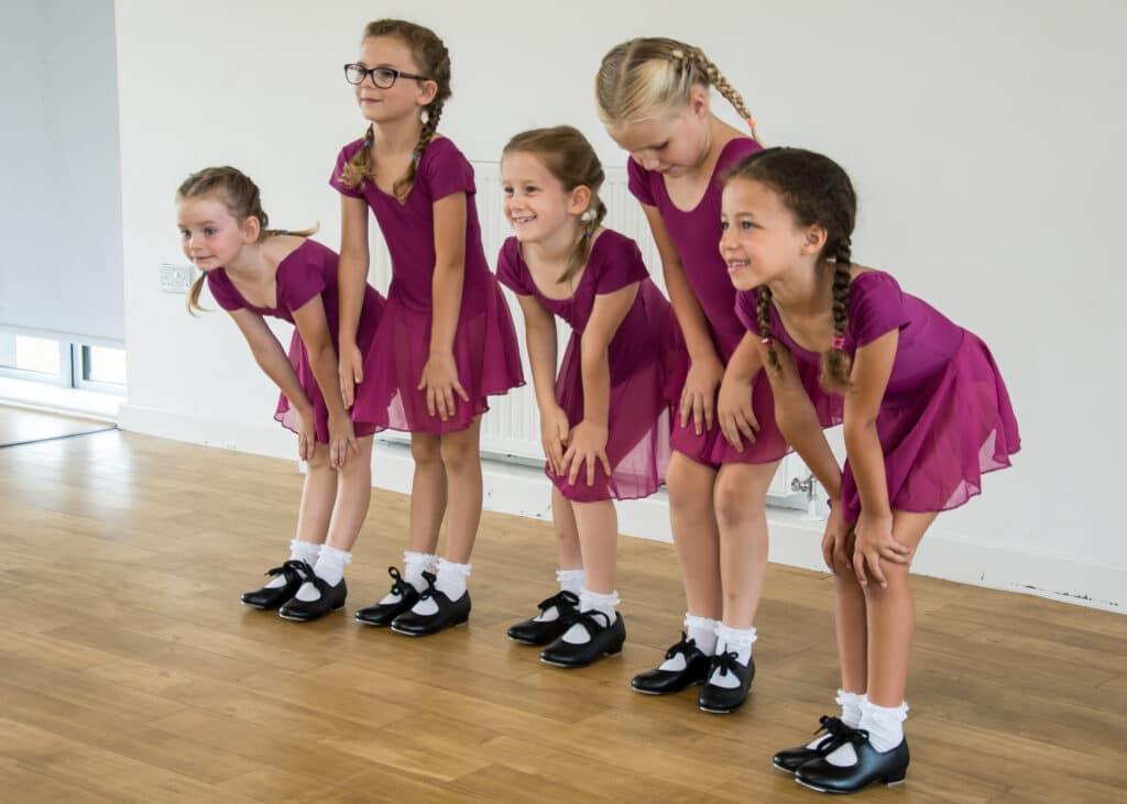 Children's tap dance class